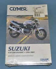 1996-2003 Suzuki Bandit GSF1200 Clymer Service Shop Repair Manual New In Plastic