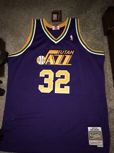official photos 0bc27 3b88b Details about Utah Jazz Mitchell & Ness Karl Malone Swingman Jersey XXL NWT  $130