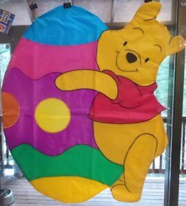 Winnie the Pooh Easter Standard House Flag NCE  #45354 Windsculpt, Shaped Flag