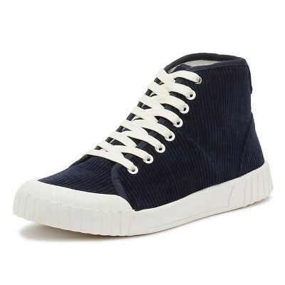 Intellektuell Good News Unisex Trainers Navy Blue Rhubarb Hi Sport Casual Ankle Shoes Lassen Sie Unsere Waren In Die Welt Gehen