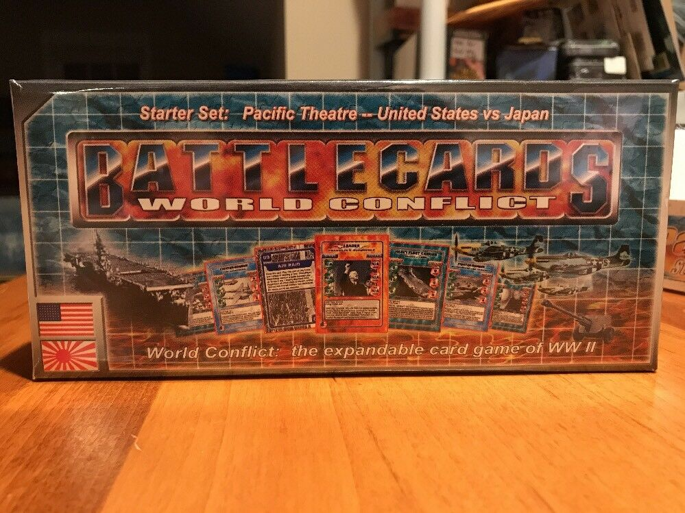 Battlecards World Conflict WW2 Pacific Theater Campaign  5 Expansion Packs  NEW
