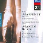Massenet: Manon Ballet (CD, May-2002, 2 Discs, Decca)