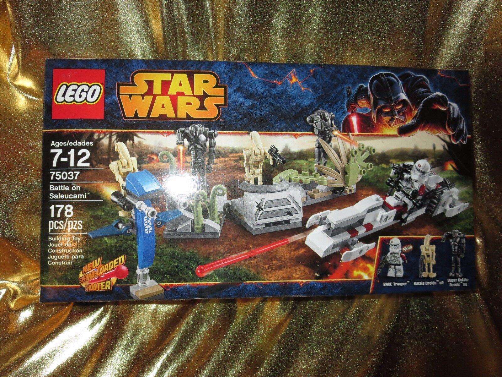 Star Wars Battle On Saleucami Lego Set 178 St.Neu 75037 Im Ruhestand Set