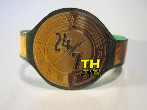 WWE 24-7 24//7 Champion Titre Personnalisé Wrestling figure ceinture