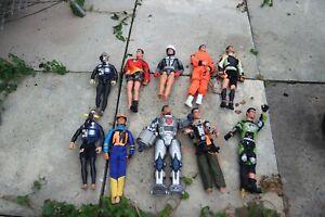 10 X Action Hommes Et Avec Vêtements-afficher Le Titre D'origine