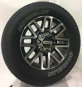 Ford F250 Wheels >> Details About Ford F250 F350 Super Duty 20 Wheels Rims Michelin Tires 2005 2019 New Takeoff