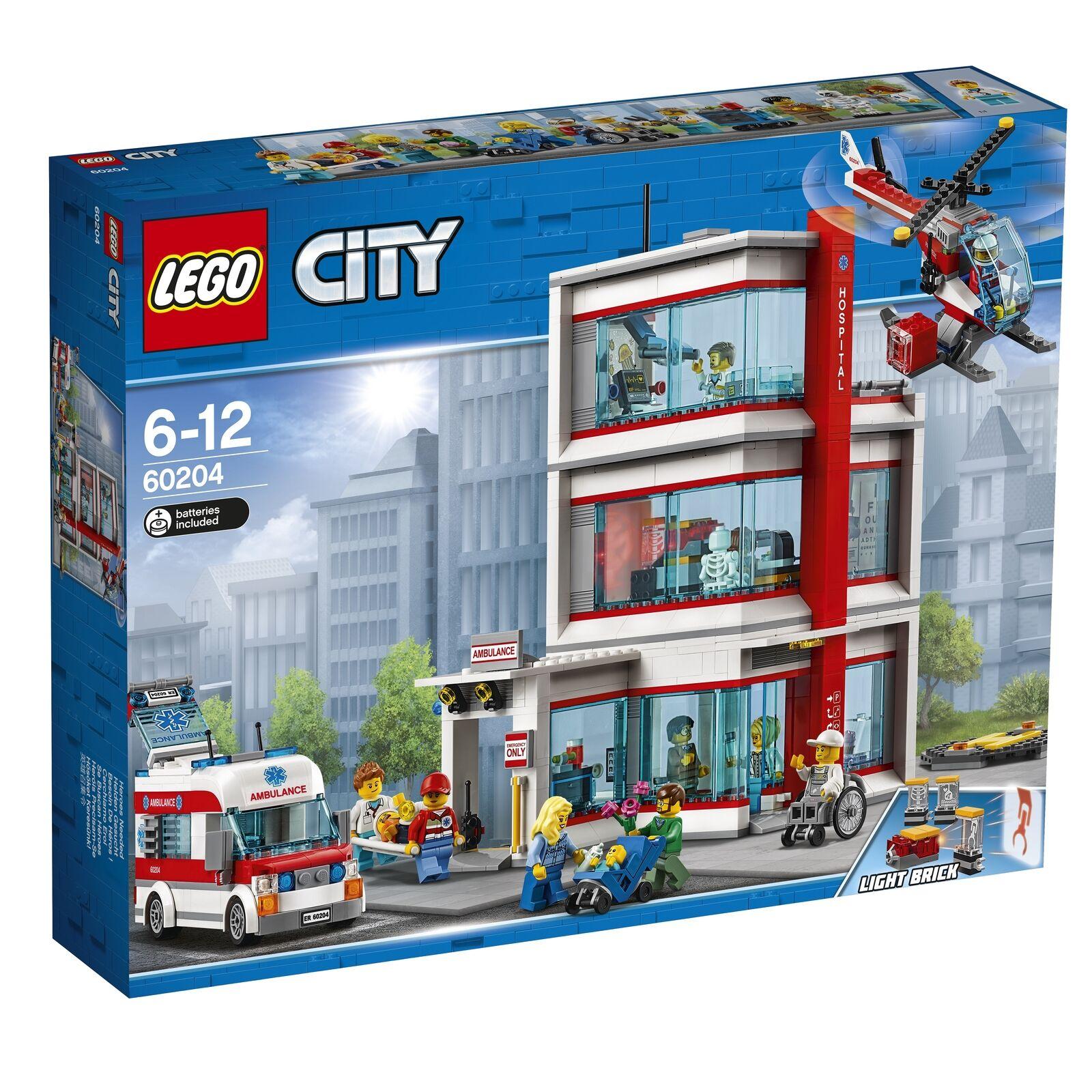 NEW Lego City City Hospital SET 60204 1