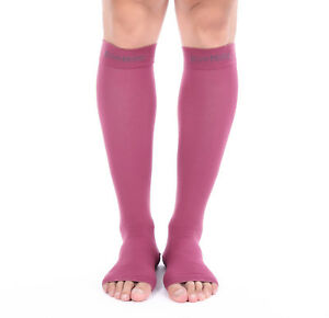 6ef672c2ef Doc Miller Open Toe Compression Socks 20-30 mmHg Recovery Varicose ...
