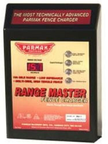 NEW Parker McCrory Parmak RM-1 Range Master 100 Mile AC Fence Charger SALE