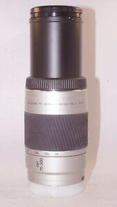 Minolta-75-300-mm-1-4-5-5-6-AF-D-Objektiv-fuer-Sony-Alpha-A