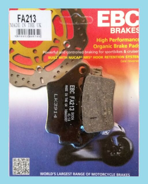 EBC FA213 Pastillas de Freno Trasero para KTM 990 Superduke / R 2005 To 2013