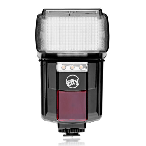 Auto Bounce Flash w// LED Video Light for Pentax K-70 K-50 K-3 K-1 K-S2 K-S1 K-30