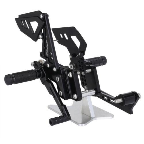Adjustable CNC Rear Sets Footrests Rearsets For 06-10 Suzuki GSXR600 GSXR750 US