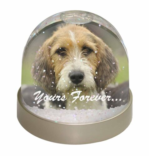 "Welsh Fox Terrier Dog ""Yours Forever"" Photo Snow Globe Waterball S, ADFT4yGL"