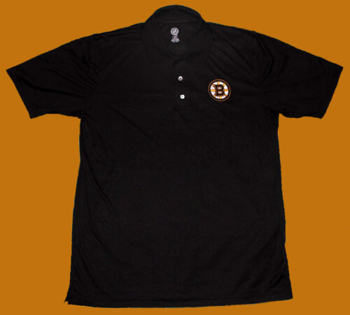 BOSTON BRUINS Men/'s Embroidered Polo NHL NWT