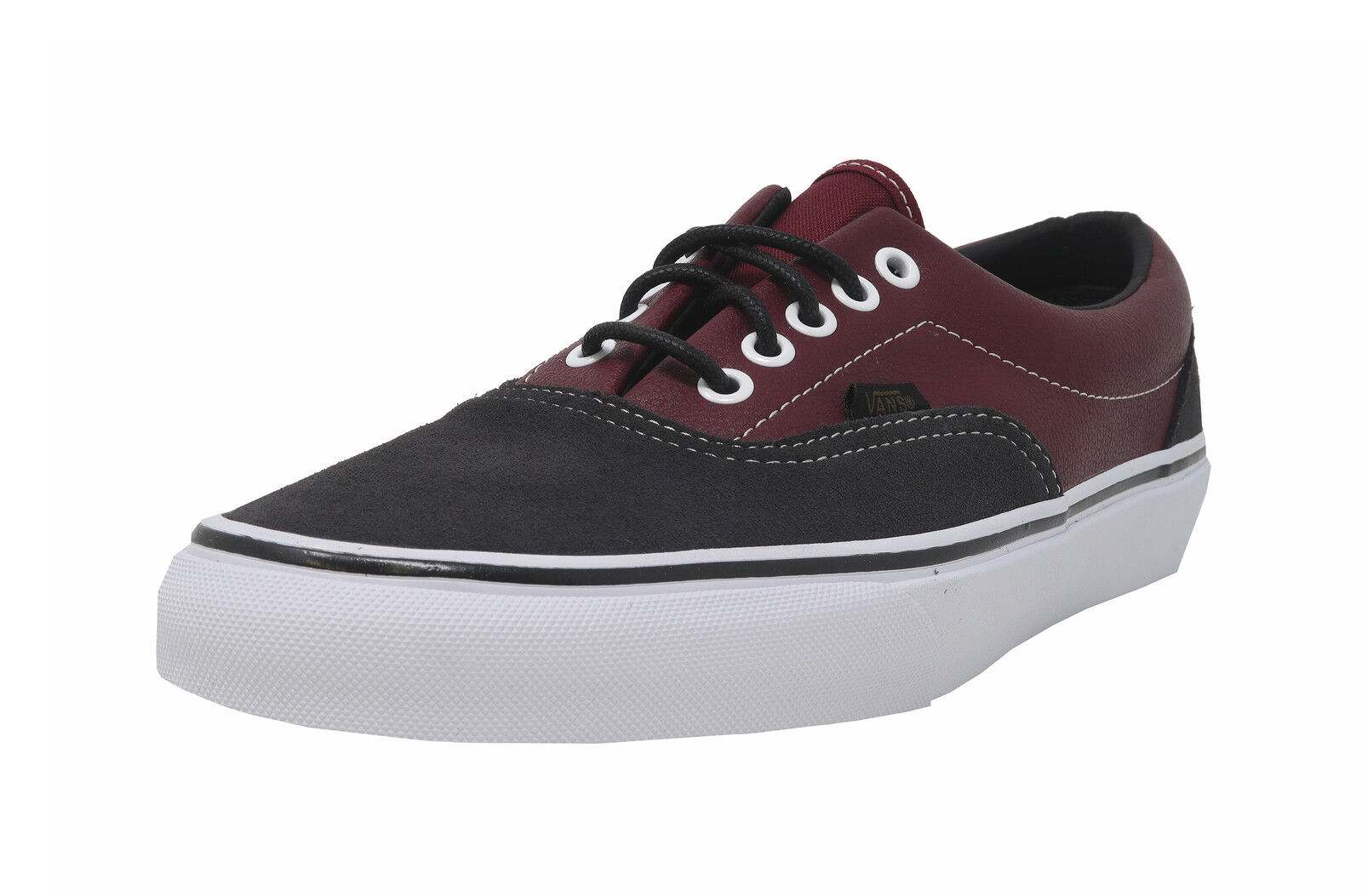 VANS Era Asphalt grau Suede Port Royale Burgundy Leather Turnschuhe Adult Men schuhe