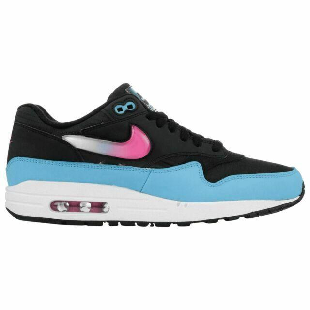 Size 8 - Nike Air Max 1 Jewel Swoosh - Black Blue Furry 2019 for ...