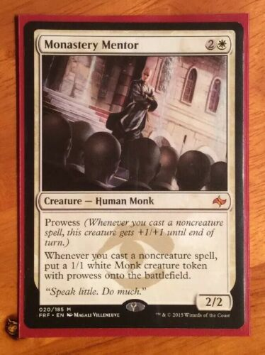 Fate Reforged English x1 MTG Magic: the Gathering Monastery Mentor