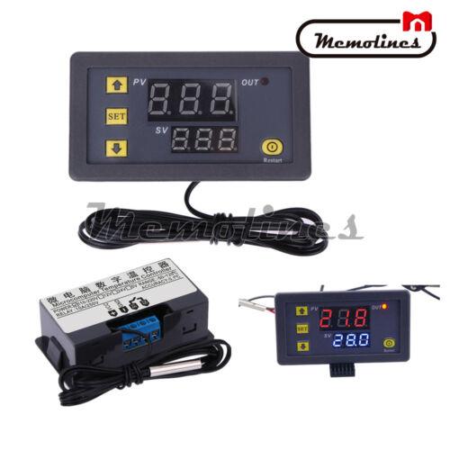 2PCS W3230 LCD AC 110-220V 10A Thermostat Temperature Controller Meter Regulator