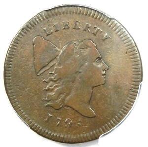 1795-Liberty-Cap-Flowing-Hair-Half-Cent-1-2C-PE-No-Pole-PCGS-VF-Details