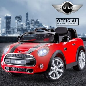 12v battery mini cooper s child electric kids ride on car. Black Bedroom Furniture Sets. Home Design Ideas