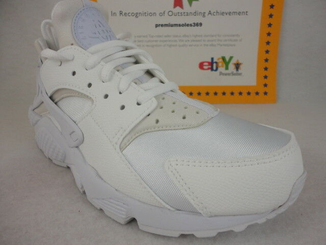 Nike Wmns Air Huarache Run, White   White, 634835 108, Size 8