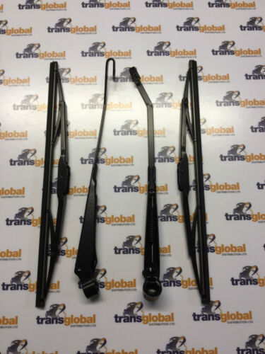 Windscreen Wiper Arm /& Blade Set for Land Rover Defender 300tdi TD5 to 01