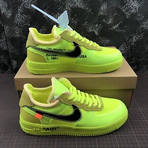 air force 1 off white gialle