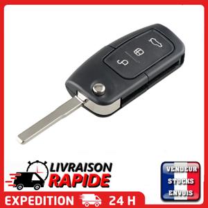 Coque-cle-plip-pour-Ford-Mondeo-Focus-KA-Fusion-Fiesta-C-MAX-Puma-Transit-clef