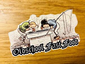 Details Zu Oldschool Fast Food Aufkleber Sticker Max Und Moritz Hooligan Kult Auto V8 Mi273