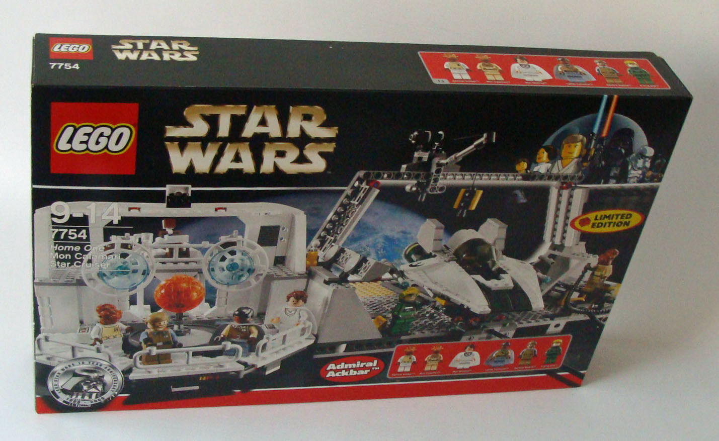 LEGO ® Star Wars 7754 Home One Mon CALAMARI STAR CRUISER 9-14 anni 789 T. - NUOVO