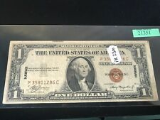 1935 A $1 Silver Certificate Brown Seal Hawaii Note, Ungraded