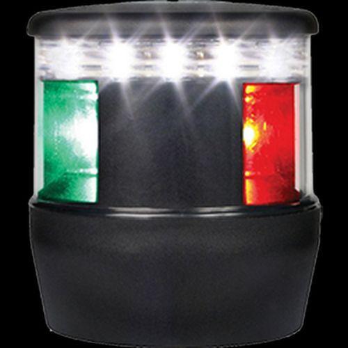 Luz De Navegación Hella TriColor Led, 2 µ, Negro