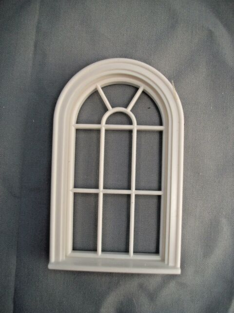 Half Scale 1:24  Victorian  Round Top Window Jackson/'s Miniatures Dollhouse #L13
