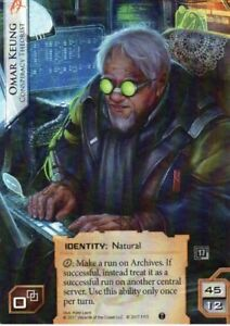 Android Netrunner Omar Keung Promo - Lublin, Polska - Android Netrunner Omar Keung Promo - Lublin, Polska