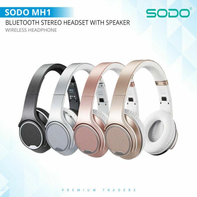 Sodo Mh1 Series Twist Out Speaker Bluetooth Wireless Headphone For Sale Online Ebay