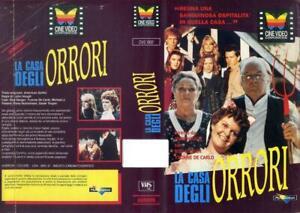 LA-CASA-DEGLI-ORRORI-1988-RARISSIMA-VHS-HORROR-ORIGINALE-CINE-VIDEO-CORP-OTTIMA