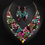 Fashion-Rhinestone-Bib-Choker-Pendant-Crystal-Statement-Necklace-Women-Jewelry thumbnail 74