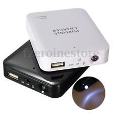 20000mAH Power Bank DIY Caja Batería Externa Cargador Universal 4X AA Movil