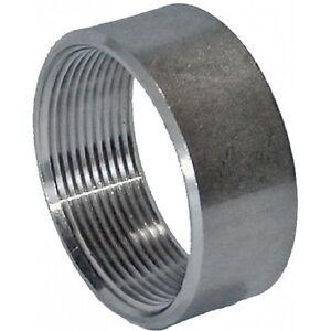 "3//4/"" BSP Half Socket 316 Stainless Steel 150LB Pipe Fitting"