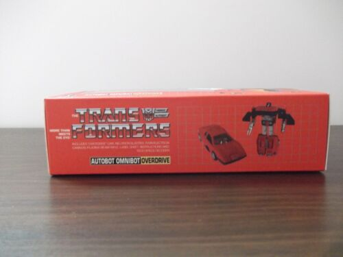 Transformers G1 Omnibots  3 Boxes Custom Toy not included