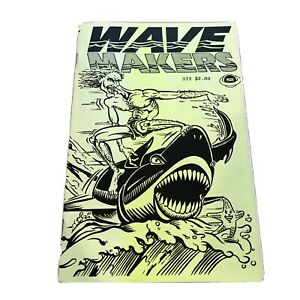 WAVEMAKERS-6-1989-Canada-UNDERGROUND-COMICS-COMIX-Zine