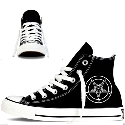 Converse Star Hightops donna Custom da uomo da All Pentagram qwpaIv