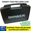 SONKEN-700D-5-2X-PROFESSIONAL-UHF-WIRELESS-MICROPHONES-WITH-LED-DISPLAY-amp-CASE thumbnail 2