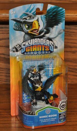 Skylanders Giants SONIC BOOM Figure Card Sticker Web Code 2012 NEW