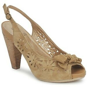 RRP-60-Hush-Puppies-Womens-Ladies-TAMER-Suede-Open-Toe-Sandal-Shoes-UK4-8