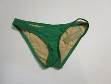 J. CREW BIKINI BRIEF $40 full coverage FGR GREEN NEW SWIM BOTTOMS XXXS