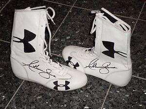 Box Schuhe Original Handsigniert Von Weltmeister Antony Joshua Charity Ebay