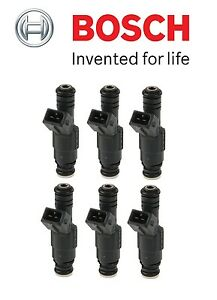 For BMW E30 325i 325is E31 850Ci 850CSi E32 750iL 525i Set of 6 Fuel Injectors