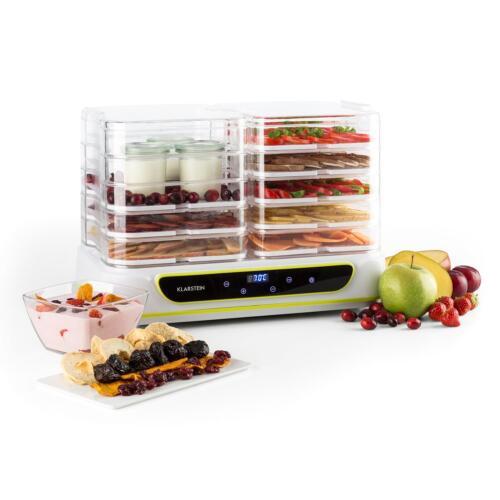 Klarstein Yoyofruit Déshydrateur alimentaire /& yaourtière 2x 5 étages OCCASION